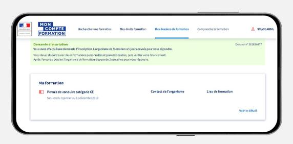 application mobile cpf tuto